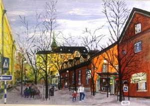 Stationsgatan, Sundbyberg